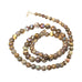 AUSTRALIAN BOULDER OPAL Beads Necklace 17""