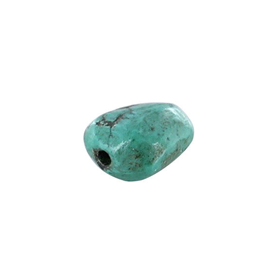 ANTIQUE TIBETAN TURQUOISE Bead #4 - New World Gems - 2