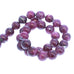 RUBY BEADS Large Round 11.5mm 16""