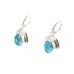 BISBEE Turquoise Earrings Southwest Rare Turquoise Arizona