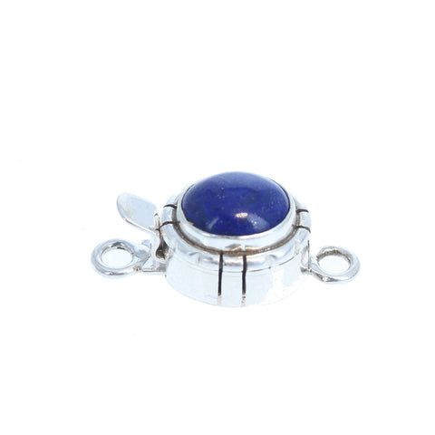 LAPIS CLASP Southwest Design 8x10mm Sterling