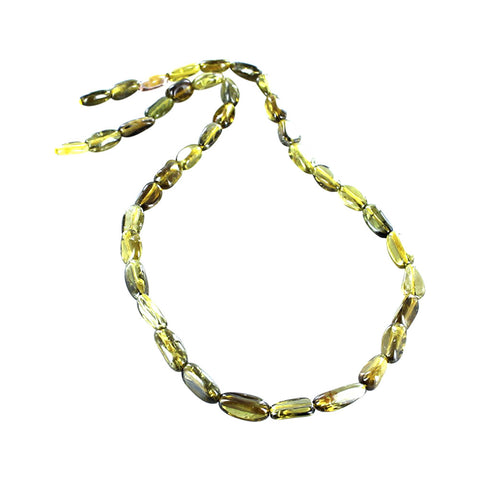 YELLOW TOURMALINE BEADS Potato Shape 7-14mm