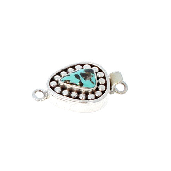 CARICO LAKE TURQUOISE CLASP DOT DESIGN #15