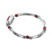 "CORAL STERLING SILVER BRACELET CORAL CLASP 7.25"" - New World Gems - 3"