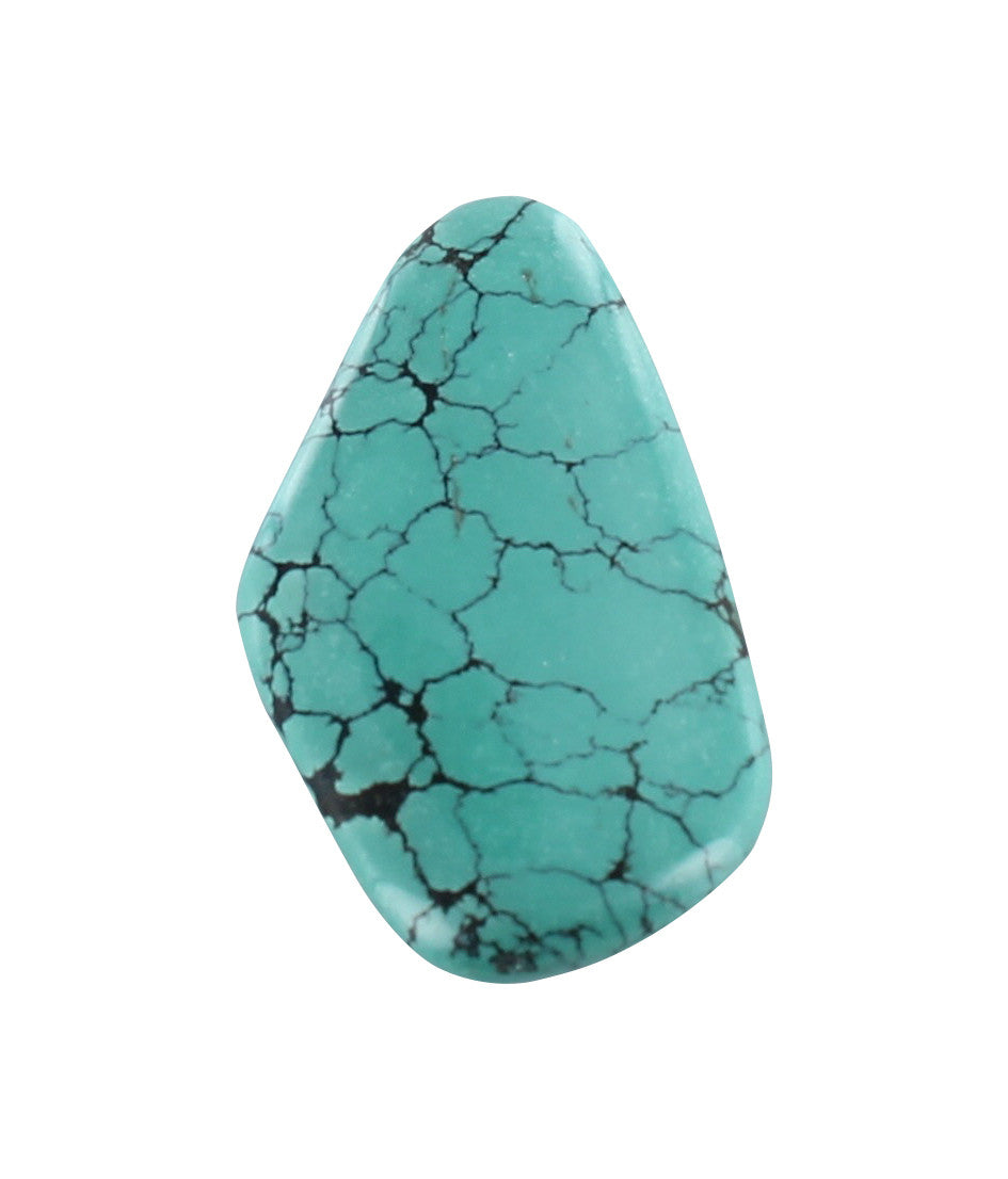 TURQUOISE DOUBLE SIDED CENTERPIECE #2 - New World Gems - 1