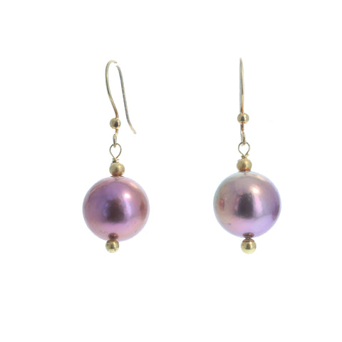EDISON PEARL 18K Gold Earrings Stunning