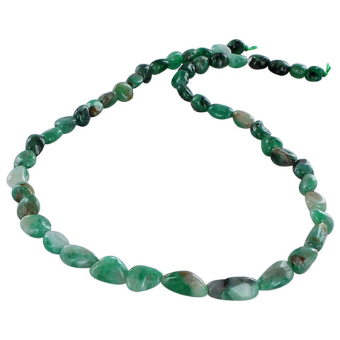 EMERALD BEADS POTATO SHAPE 6.4-8mm - New World Gems - 1