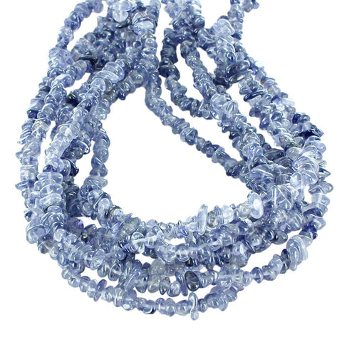 IOLITE BEADS NUGGETS 6x8mm - New World Gems