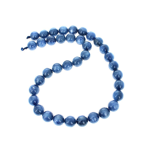 KYANITE BEADS ROUND 11mm 16""