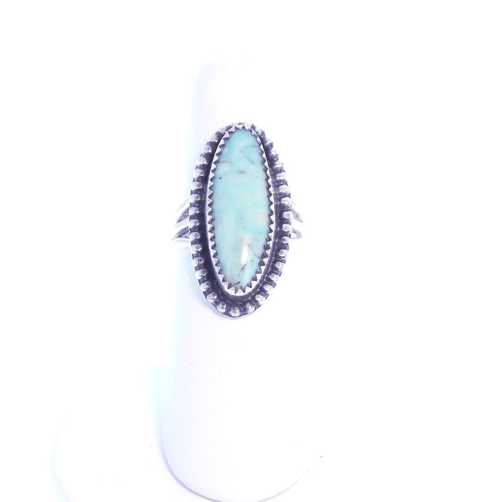 DRY CREEK TURQUOISE Sterling Silver Ring Size 6