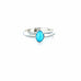 RING Sleeping Beauty Turquoise Oval Sze 6.5 - New World Gems - 1