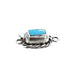 KINGMAN TURQUOISE CLASP Rope Design Sterling Choose Stone