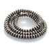 Navajo Pearls Rondelles 6mm Beads Pk of 10