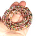 AAA TOURMALINE BEADS Multicolor Buttons Discs
