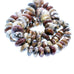 WILD HORSE BEADS Large Rondelles 12-22mm 16""