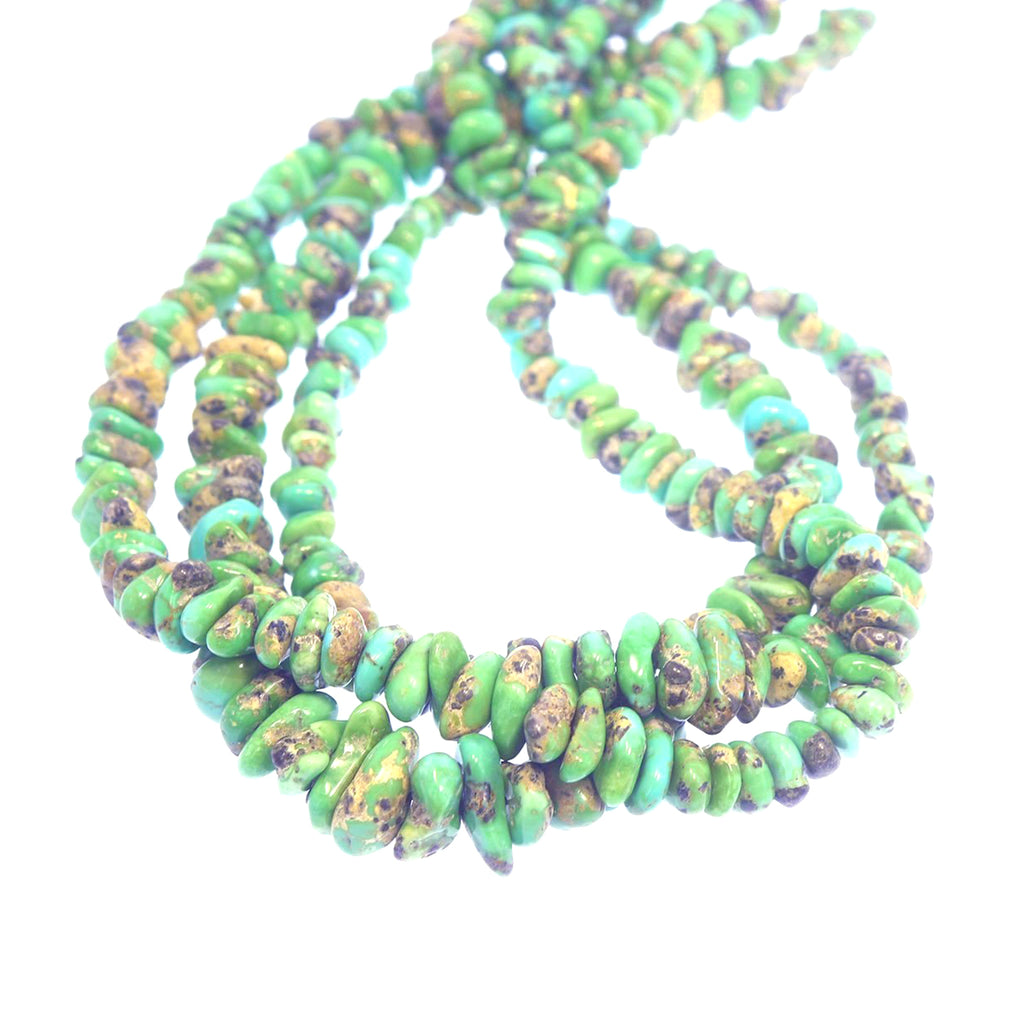 Verde Valley Mexican TURQUOISE BEADS Green 6-15mm