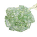 AMETHYST BEADS Faceted Cut Deep Green Free Form 10-20mm