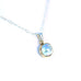 MABE PEARL PENDANT Round Necklace with Chain 18""