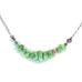 Faustite GREEN CARICO LAKE Turquoise Nuggets Beads Necklace