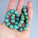 PERUVIAN OPAL BEADS Ocean Blue 10.5mm Round