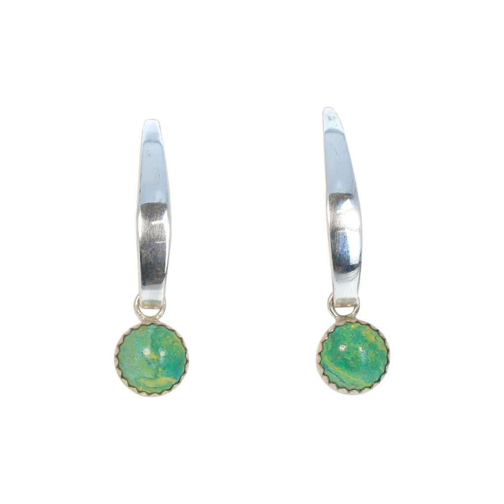 Primavera Earrings Sterling Silver Long Drops