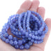 AAA TANZANITE Beads Round 5.3-8mm 18""