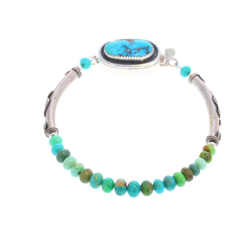 CARICO LAKE TURQUOISE Bracelet Multi Color Southwest #3