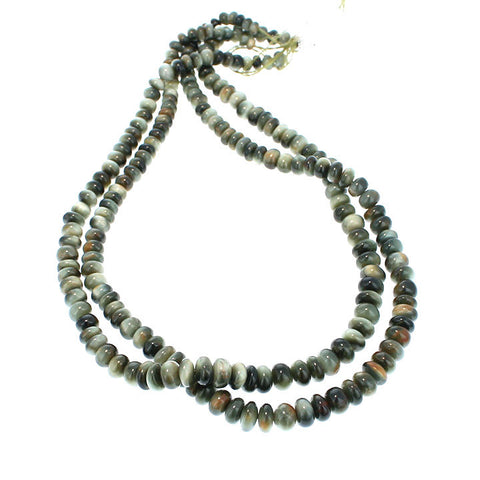 CHRYSOBERYL Beads Rondelles 5-8mm 16""
