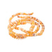 MEXICAN OPAL BEADS Rondelles Deep Apricot 4-7mm
