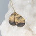 PICTURE JASPER EARRING PAIR TEARDROP
