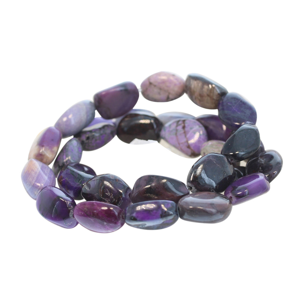 SUGILITE BEADS Ovals Large 13x18mm