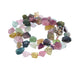 TOURMALINE FACETED BEADS NECKLACE PINK MULTI COLOR 17""