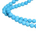 AAA SLEEPING BEAUTY Turquoise Beads Round Beads 18""