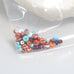 SOUTHWEST Mix Fiesta Spiny Turquoise Beads Rondelles 3-5mm 5 Gr