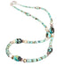 McGINNIS TURQUOISE and Wild Horse Jasper Necklace Nevada