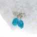 SLEEPING BEAUTY Turquoise Earrings Sterling Southwest