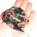 TOURMALINE BEADS CARVED Multi Color 16""