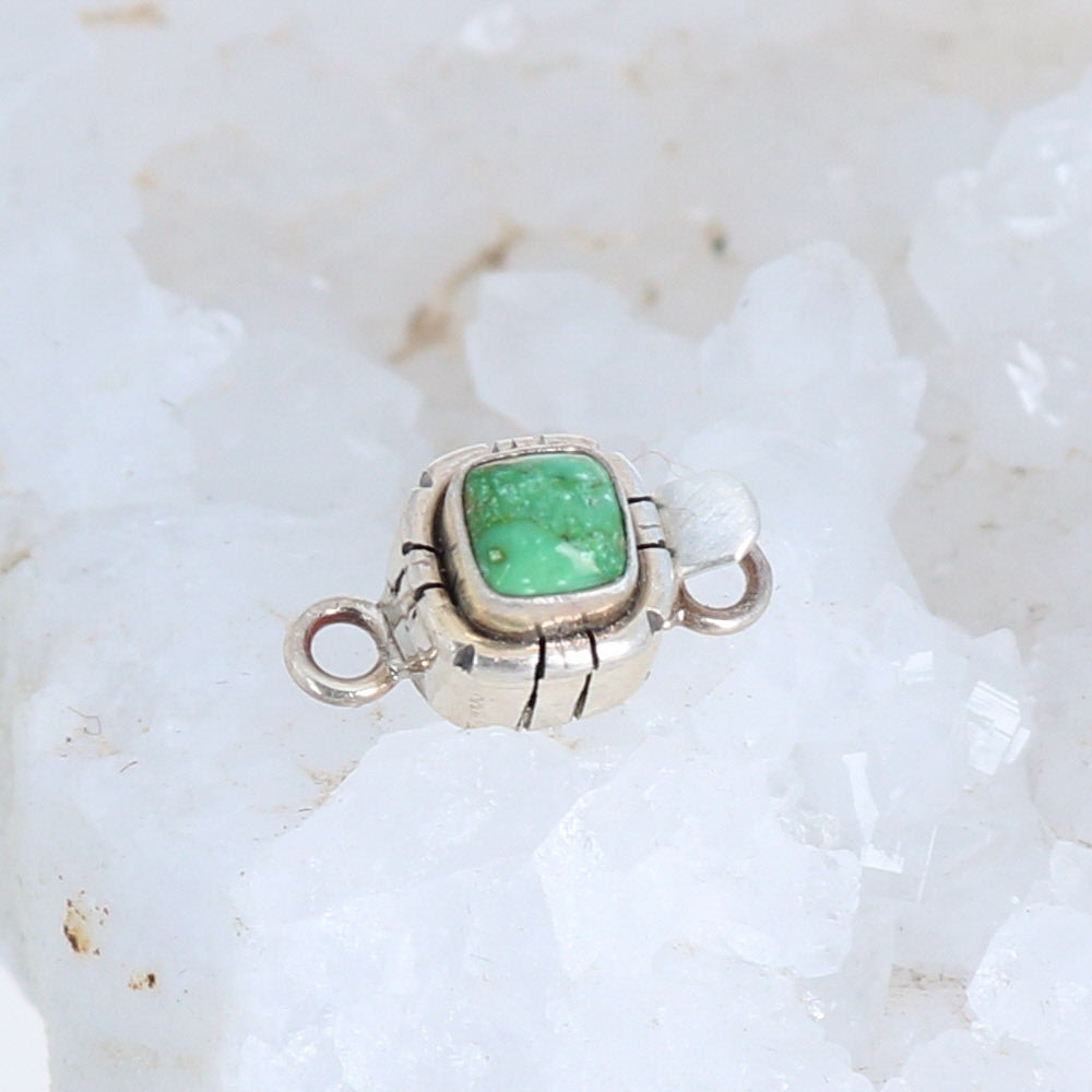 Sonoran Green Turquoise {Mexican} Clasp Southwestern Style