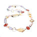 SUNSTONE CITRINE PEARL AGATE STERLING SILVER NECKLACE