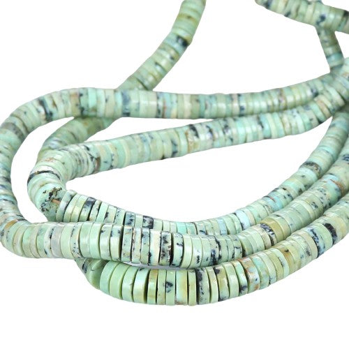 COLORBACK TURQUOISE BEADS Matrix Mint Green Nevada
