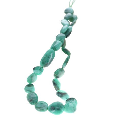EMERALD BEADS POTATO SHAPE 13-20mm