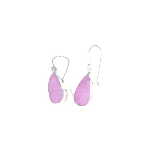 Striking COBALTO CALCITE Earrings Sterling Silver
