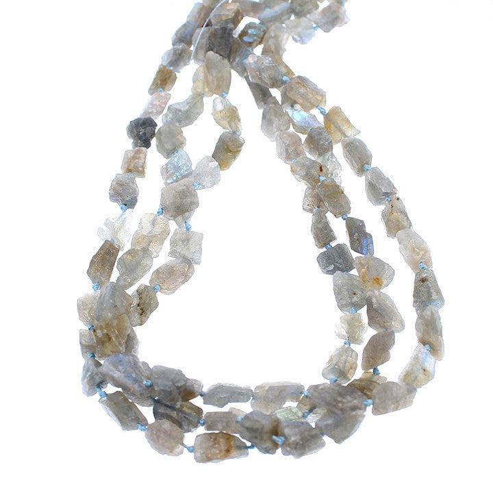 LABRADORITE BEADS Nuggets Rough Crystal