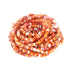 "ORANGE SPINY OYSTER Beads Rondelles 4mm 16"" Light Color"