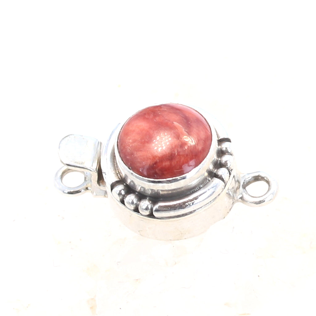 SPINY OYSTER CLASP 10mm Southwest Style Red or Orange