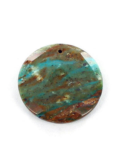 PERUVIAN OPAL FACETED ROUND BEAD - New World Gems