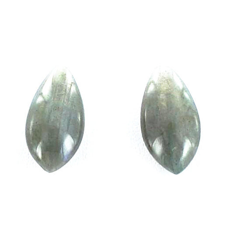 LABRADORITE TEARDROP BEADS EARRING SET 20x10mm - New World Gems
