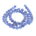 TANZANITE BEADS 6mm ROUND 16""