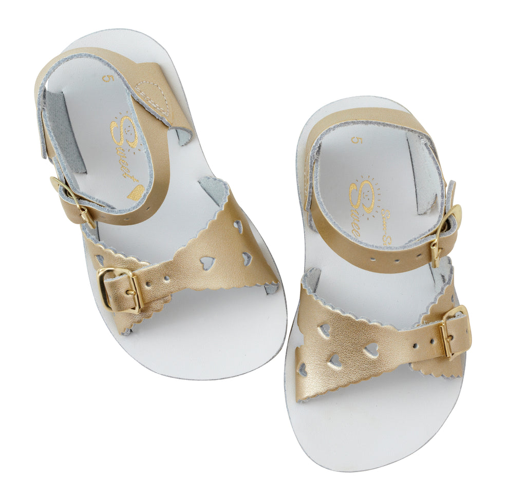 Salt Water Sandals Sun-San Sweetheart Gold