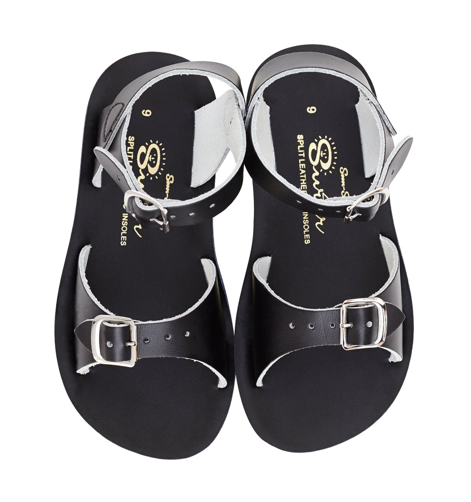 Salt Water Sandals Sun-San Surfer Black